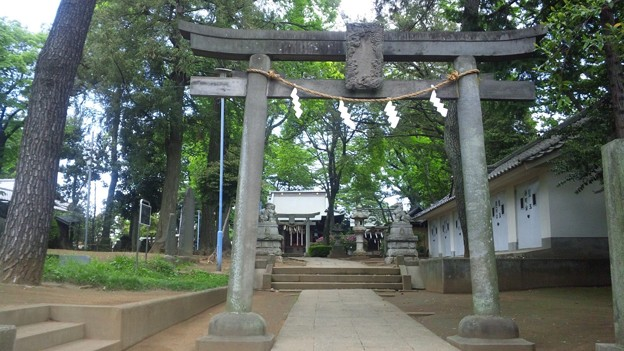 豊玉氷川神社(練馬区豊玉南)南鳥居