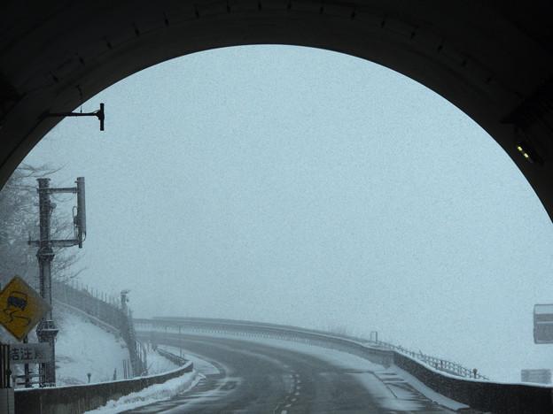 雪のハイウェイ