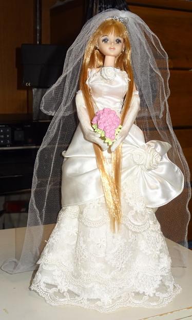 ウェディングドレス(ローズリエール)を着たファーストジェニー