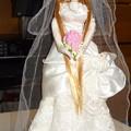Photos: ウェディングドレス(ローズリエール)を着たファーストジェニー