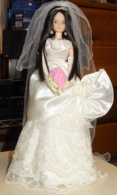 Photos: ウェディングドレス(ローズリエール)を着たREINA