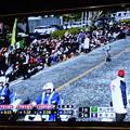 おぎのや横川店の店内テレビ(パナソニック製 ビエラ)