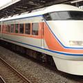 東武特急100系「スペーシアきぬ」(通過列車)