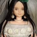 ウェディングドレス(ジェニーファッションコレクション)姿のREINA(アップ)