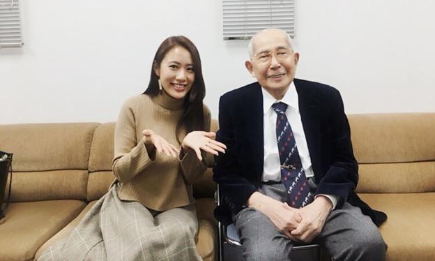 守永真彩と原良馬(朝日杯フューチュリティステークス当日のウインズ後楽園にて)