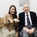 Photos: 守永真彩と原良馬(朝日杯フューチュリティステークス当日のウインズ後楽園にて)