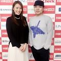 Photos: 守永真彩と真矢(真矢RADIO放送前にて/左から)