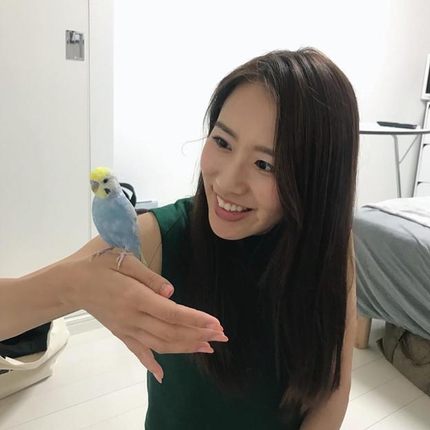 守永真彩(鷲見玲奈氏の自宅にて)