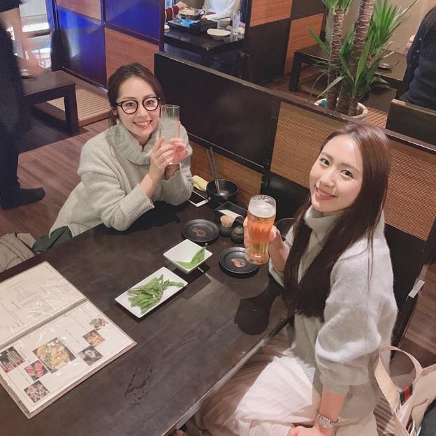 守永真彩と谷桃子