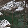 グリーンの川面~