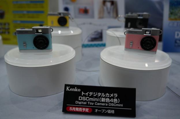 cp+2016 ケンコー トイデジタルカメラ ちっちゃいよー♪