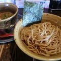 夜鳴き軒 ペジポタ 海老つけ麺