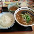 Photos: 山田うどん カレーうどん ライス(小)