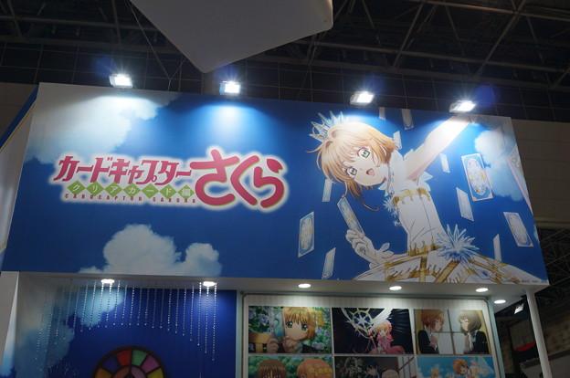 アニメジャパン2018 カードキャプターさくら クリアカード展示