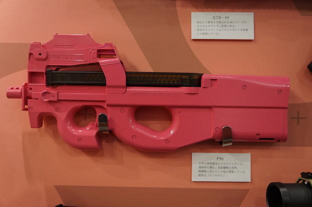 ガンゲイルオンライン レン 愛銃P90 ピーちゃん♪
