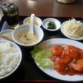 台湾料理 昇龍 エビチリランチ