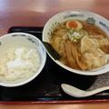 Photos: 日高屋 ワンタン麺大盛り(無料)&半ライス