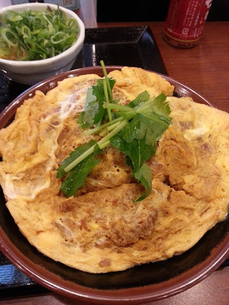 カツ丼 美味しい~(  ̄▽ ̄)