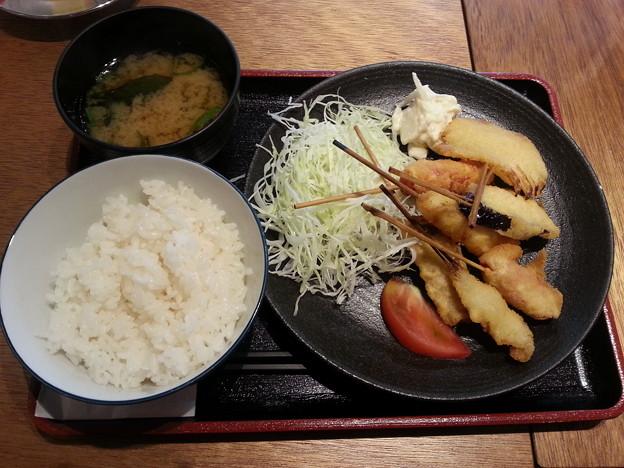 串かつ でんがな 特製串かつ A定食