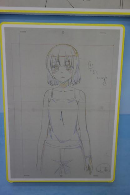 はるかなレシーブ アニメ複製原画