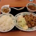 日高屋で飯デース(*^^*)
