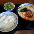 丸亀製麺 坦々うどん  ご飯