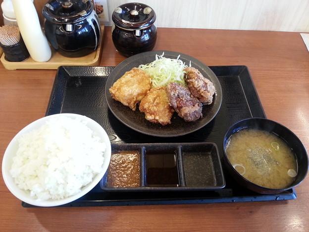からやま 味噌からあげ ご飯大盛り\(^o^)/