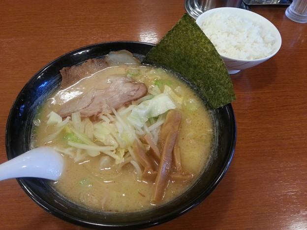 北海道ラーメン おやじ 味噌らーめん ライス 小
