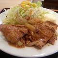 Photos: 生姜焼 少し肉がかたいけど 美味しい♪