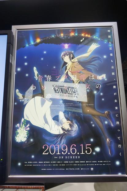 劇場アニメ 青春ブタ野郎はゆめみる少女の夢を見ない