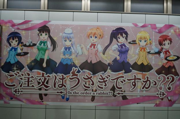アニメジャパン2019 ご注文はうさぎですか??壁面広告