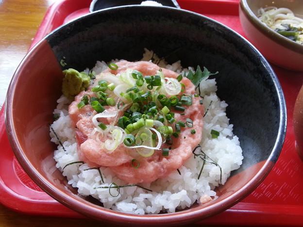 ネギトロ丼 大盛り(≧▽≦)