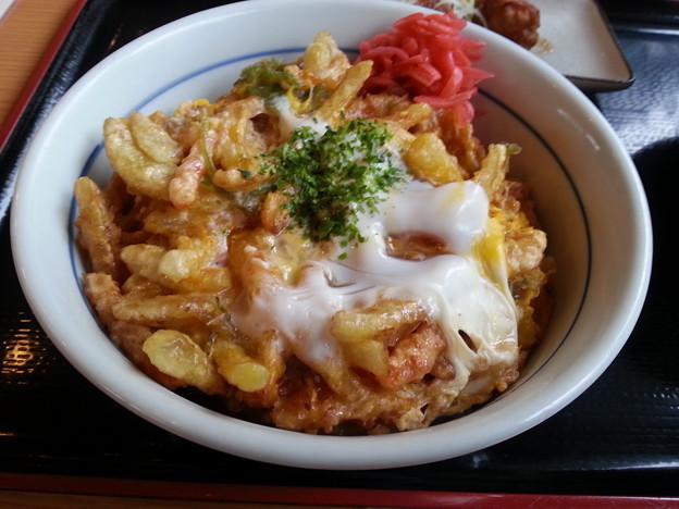 海老かき揚げ 美味しいデースo(^o^)o