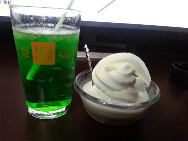 アイス ジュース 飲み放題~o(^o^)o