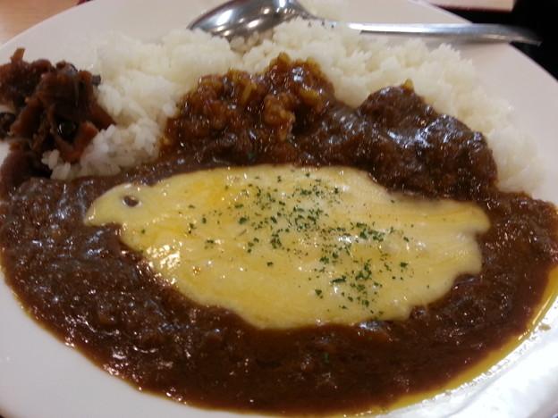チーズカレー 美味しいデースo(^o^)o
