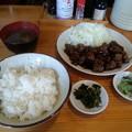 Photos: つわの 和牛テキ 定食 ご飯大盛り♪