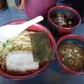 Photos: つけ麺 特盛り 豚骨&カレー ハーフスープ