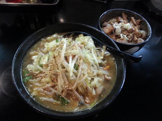 麺工房楓  醤油タンメン ランチBセット
