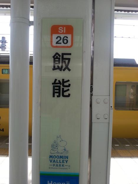 飯能  ムーミン谷駅