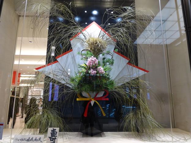 2019.1.9 阪急前のお正月