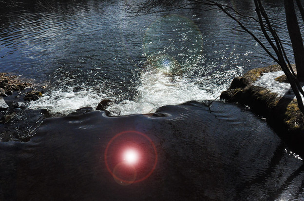 写真: 川の流れ