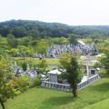 写真: 高岡霊園~盆の入り
