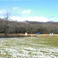 錦大沼公園と樽前山