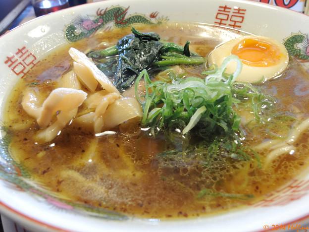 濃厚煮干醤油らぁ麺