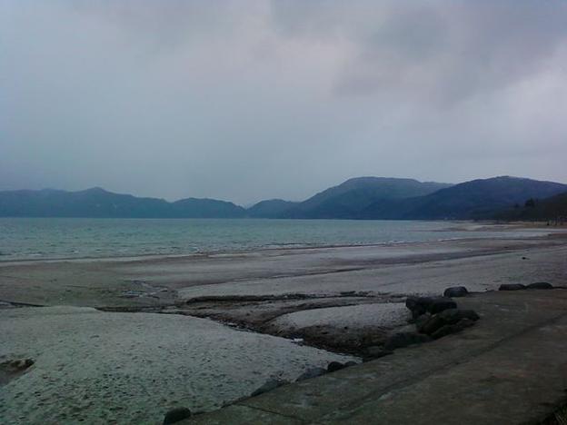 2010年撮影 秋田県田沢湖 湖畔