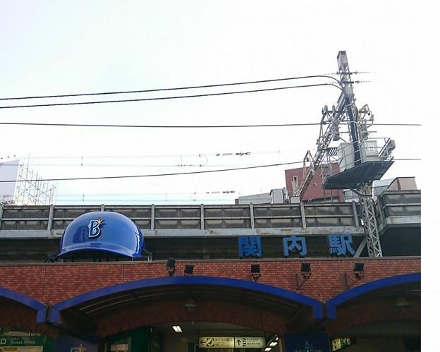 写真: 横浜 関内駅 駅舎