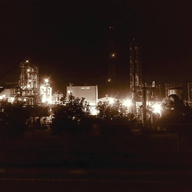 平塚工場夜景4