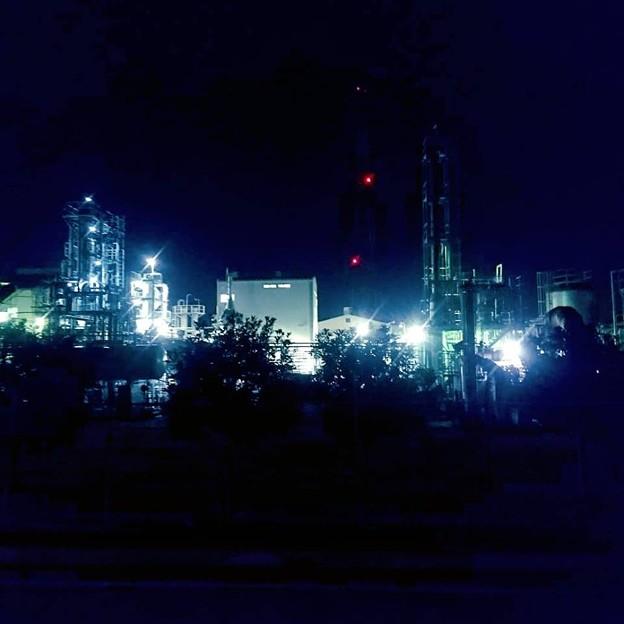 平塚工場夜景5