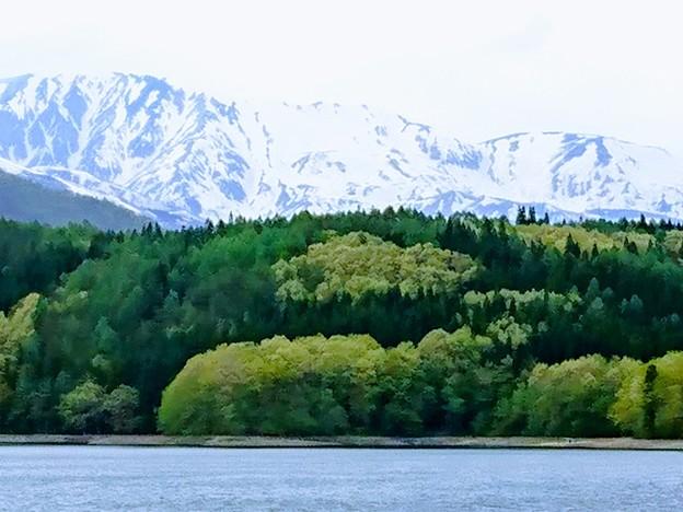 仁科三湖 水彩画の如く