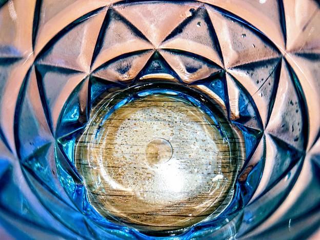 写真: グラスの宇宙 万華鏡